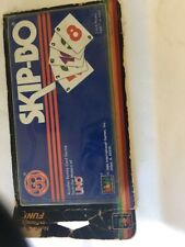 Vintage Skip-Bo Family Card Game from Makers of Uno 1986 Sealed