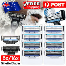 Upto16x Replacement Blades For Gillette MACH 3 Razor Shaver Trimmer Shaving NEW