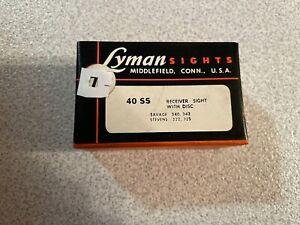 Vintage Lyman 40 SS sight