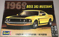Revell 1969 Ford Boss 302 Mustang 1:25 scale model car kit new 4313