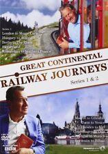 Great Continental Railway Journeys Series 1 + 2 Season Region 4 New DVD 4 Discs