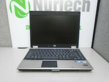 "HP EliteBook 6930p 14"" C2D-P8400 2.26GHz 4GB/250GB DVDRW Laptop +AC 'NO BATTERY'"