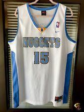 Vintage Nike Denver Nuggets Carmelo Anthony #15 NBA Jersey 90's Vtg Jokic