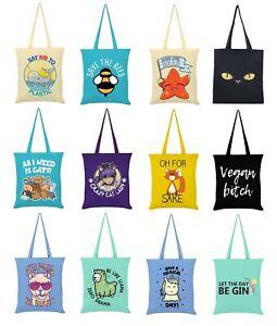 100% Cotton Tote, Eco Friendly Reusable Bag For Life / Shopping Bag