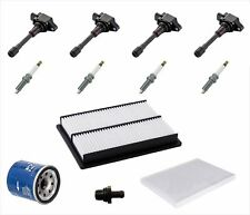 Ignition Coils Plugs Air Oil Cabin Filters Fits for 08-13 Nissan Rouge 2.5L