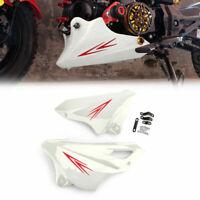 ABS Paramotore Protezione motore Per Honda MSX125SF 16-17 MSX125 13-16 Bianco