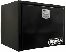 "Buyers Black Steel 14"" X 12"" X 24"" Underbody ToolBox - 1703150"