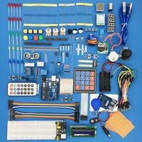 Ultimate Starter Kit with UNO R3 Breadboard 1602LCD Motor Relay LED for Arduino