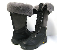 UGG ADIRONDACK WOMEN WINTER TALL BOOTS BLACK US 10 / UK8.5 / EU41