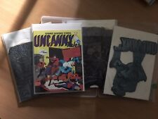 Uncanny Tales, Original Printing Plates, Book, COA signed by Alan Class