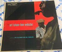 THE ART TATUM-BEN WEBSTER QUARTET, 1958? US VERVE LABEL, JAZZ,SWING, EX.
