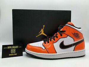 Nike Air Jordan 1 Mid Turf Orange NEU Sneaker Low High Dunk Shadow Force Retro