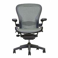 Herman Miller Aeron Chair   Grey  ( Lead)   Open Box   Size B