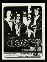 "The Doors Long Beach 16"" x 12"" Photo Repro Concert Poster"
