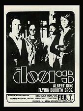 "The Doors Long Beach 16"" x 12"" Photo Repro Concert Poster"