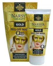 Innovative Rejuvenate Gold Anti-Wrinkle Peel-off Facial Mask with Q10 D-Pantenol