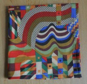 John Lewis Tana lawn handkerchief hankie pocket square Gustav Klimt Multi