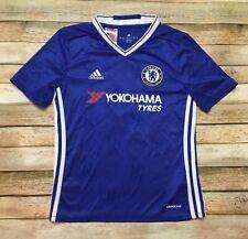 Chelsea Adidas Jersey N'Golo Kante 2016-17 Soccer Shirt Youth Medium Womens XS