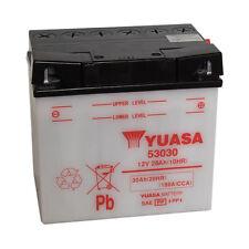 Batterie Moto Yuasa 53030 12V 30AH 180A 186X130X171MM ACIDE OFFERT
