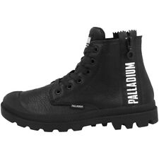 Palladium Pampa UBN Zips Leather Boots Women Schuhe Damen Stiefel 96857-008