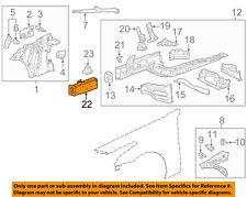 Cadillac GM OEM 14-18 CTS Fender-Rail End Left 23200944