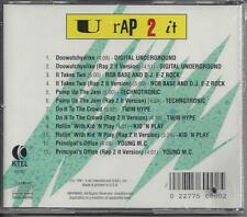 "VARIOUS ARTISTS  ""U Rap 2 It""  NEW SEALED KARAOKE/RAP CD---LYRICS"