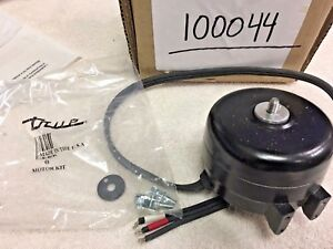TRUE Freezers & Coolers Fan Motor, PART#800451, Condenser Reversible Motor true