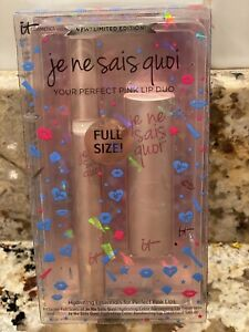 IT Cosmetics Limited Edition Je Ne Sais Quoi YOUR PERFECT PINK Lip Duo Full Size