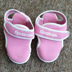 Reebok pink beach swim sandals UK size 6.5