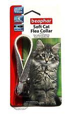 Beaphar Collar de gato plateado brillante
