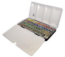 Rembrandt Artists Quality Watercolour Metal Box Set - 48 Half Pan
