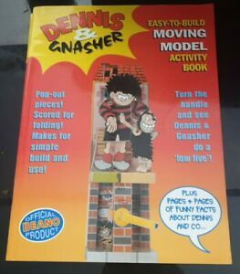 Dennis and Gnasher: Easy-to-build Moving Model Activity Book (Beano), Newstead,