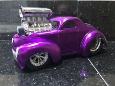 Muscle Machines 1941 Willys Coupe 1:18 Rare Limited Custom Lowered