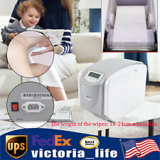 110V Commercial Automatic Hot Wet Towel Dispensers Wet Wipes Machine 18-24cm
