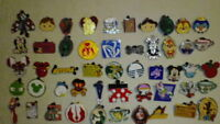 DISNEY PINS lot of 100 pins Free Shipping 100% tradable no duplicates