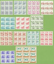 Yugoslavia - Lot - 117 stamps (13x9 pcs) - 1981-1989 - MNH