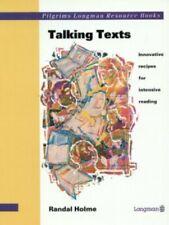 Talking Texts (Pilgrims Longman resource books) by Holme, Randal Paperback Book