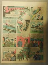 Superman Sunday Page #189 by Siegel & Shuster from 6/13/1943 Tab Page:Year #4!