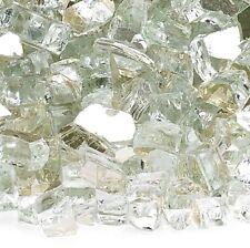 "Platinum 1/4"" Reflective Fireglass - 10 lb bag"