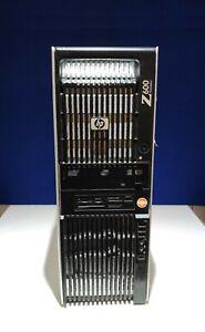 HP Z600 WorkStation 2x Xeon L5506 4Cores processors@2.13GHz 64 GB DDR3 RAM 500GB