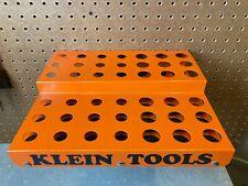 Orange Klein Tool Store Display Rack for Screwdriver, Nutdriver sets, etc.