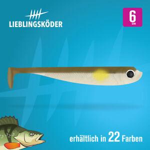 6cm Lieblingsköder - NEUHEIT 2019 - alle Farben