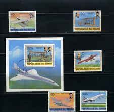 AVIATION OF CHAD, HISTORY 75th ANNIV. WRITH,-EXUPERY,-JUNKERS,- BALBO.- 1978
