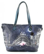 Y NOT? Borsa Stardust Shopping Bag Zip L