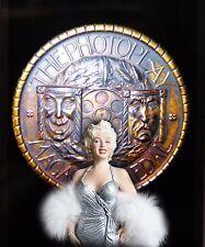 Marilyn Monroe  mini sculpture Photoplay Adwards. by S.Adalid