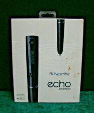 Livescribe Echo Smartpen - APX-00008, 2GB, Black - BUNDLE w/ Manual, Notebook