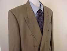 Hunting Horn Sports Coat 44R Green Light 1 Button Men's