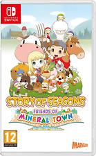 Historia de estaciones-Amigos de Mineral Town Nintendo Switch
