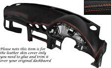 Puntadas de hilo naranja Dash Dashboard Leather Piel tapa se ajusta Mitsubishi Gto 3000gt 92-99