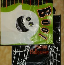 """2 pack large halloween treat bags *new* 14 x 15"""" trick or treat bags"""